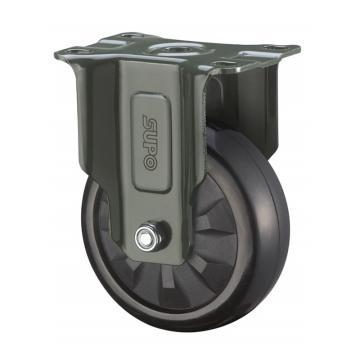 SUPO 03S款墨绿4寸固定特尔灵黑色HR轮 J03S-04-100-733