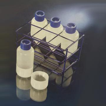 附件,适用于Nunc离心管,环氧树脂/钢架,可装6个200ml的离心管