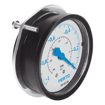 费斯托FESTO 真空压力表,R1/8,-1至0 bar,VAM-40-V1/0-R1/8-EN,537810