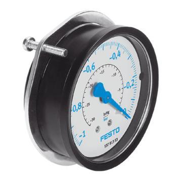 费斯托FESTO 真空压力表,R1/8,-1至0 bar,FVAM-40-V1/0-G1/8-EN,537812