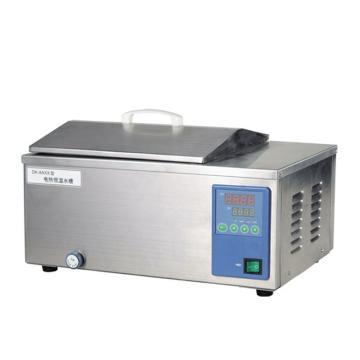 电热恒温水槽,一恒,内胆、外壳均为不锈钢,DK-8AXX,控温范围:RT+5~99℃,容积:12L