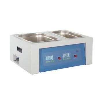 一恒恒温水槽与水浴锅,BWS-0510,两用型,控温范围:RT+5~99℃,内胆尺寸:130*280*150(二孔尺寸);290*490*150(四孔尺寸)mm