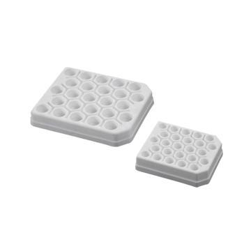 PP离心管架,15ml,白色,未消毒,5只/袋,50只/箱