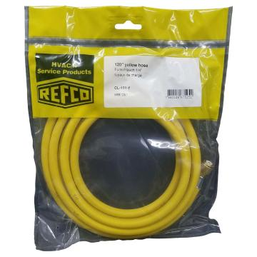 REFCO 充气软管(单根) CL-120-Y 产品代码9881267