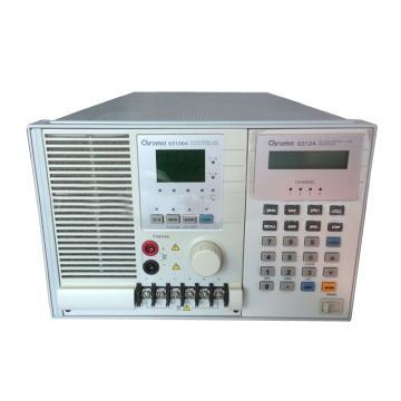 Chroma 63106A (600W,0~120A)直流电子负载  (含上门调试)