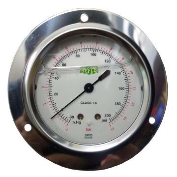 REFCO带油压力表 ++MR-245-DS-14++ 产品代码7203378