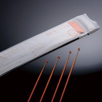 接种环/针,10ul,橘色,PS,伽玛射线消毒,自封口袋包装,25个/袋,40袋/箱