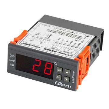 单传温控器,精创,STC-8080A+,压缩机+定时化霜,3分钟延时,60只/箱