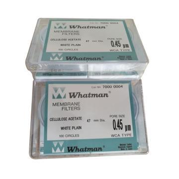 滤膜,CA 47mm WH 0.45um 100片/盒