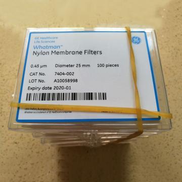 滤膜,NYL 25mm 0.45um 100张/盒