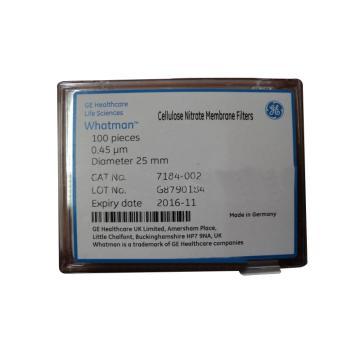 滤膜,WCN WH 25mm 0.2um 100张/盒