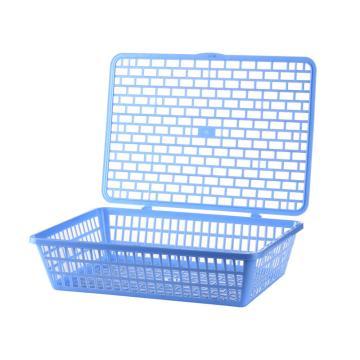 齐心 文件篮,B2112 蓝 单个