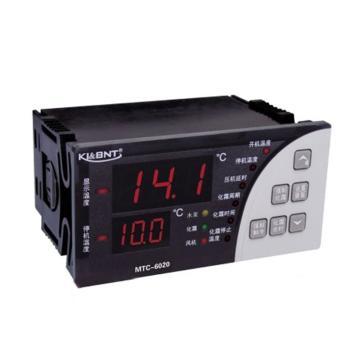 双传温控器,精创,MTC-6020,压缩机+冷风机+化霜+水泵,双屏,50只/箱