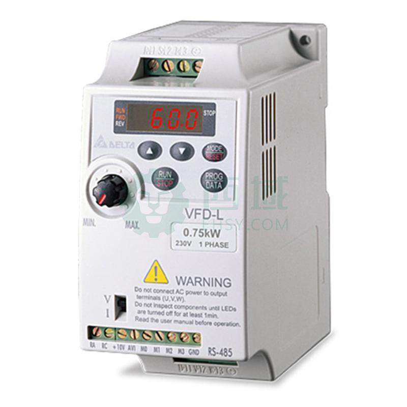 台达/delta vfd015l21w变频器