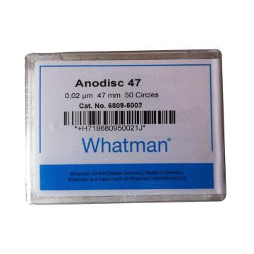 Whatman Anopore无机膜,0.2um/47mm,50片/盒