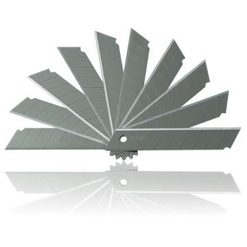 得力 美工刀片芯, 18mm(大号)2011(10片/盒) 单位:盒