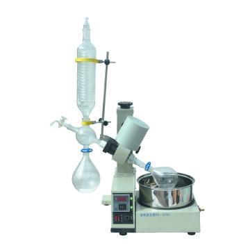 科泰 小型旋转蒸发仪,0.5-2L,立式,恒温数显水浴锅,自动升降,RE-5299
