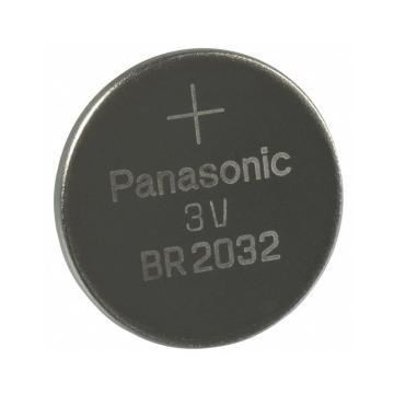 松下 宽温耐高温纽扣锂电池, 3VBR2032 单粒