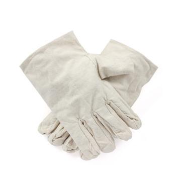 西域推荐 帆布手套,PKST-037,4*4帆布