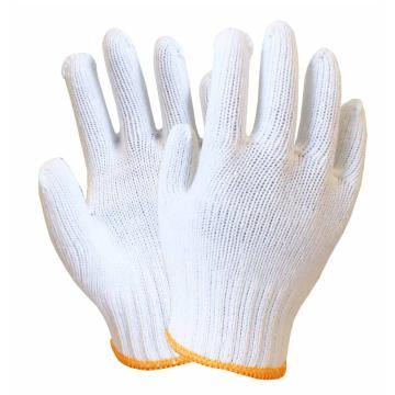 海太尔 纱线手套,0004,特纺手套 70%棉+30%涤 白色
