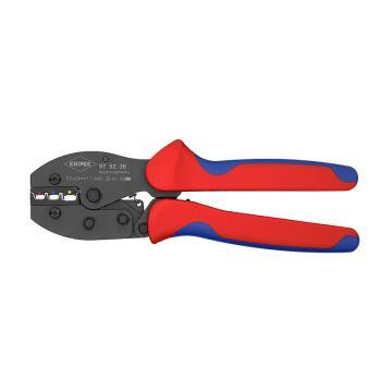 凱尼派克 Knipex 壓線鉗,雙色雙重材料 220mm,97 52 36