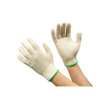 佳盾 紗線手套,1000型,850克本白全棉紗線虎口加強手套,12副/打 20打/箱