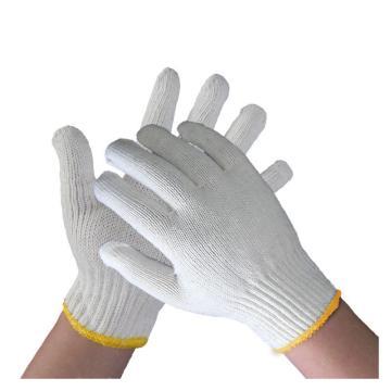 佳盾 纱线手套,3000型,600克漂白纱线手套,12副/打