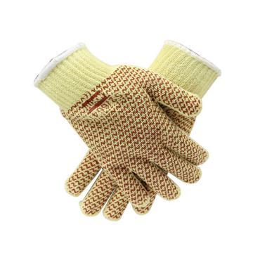 霍尼韋爾Honeywell 3級防割手套,52/6647M,KEVLAR丁腈點塑防割手套