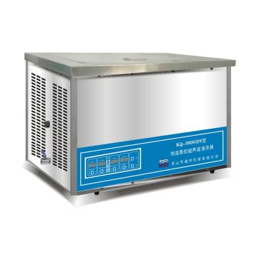 超声波清洗器,台式恒温数控,KQ-300GDV,容量:13L,超声功率:300W,超声频率:40KHz,恒温可调:0-80℃