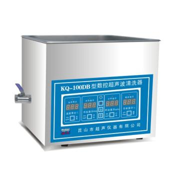 超声波清洗器,台式数控,KQ-100DB,超声频率:40KHz