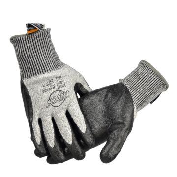 赛立特 N10600-8 13针BLADEX5防切割5级手套,手掌浸黑色丁腈