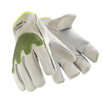 赛立特 5033-9 Superfabric 涂层材料钢制皮革5级防割手套