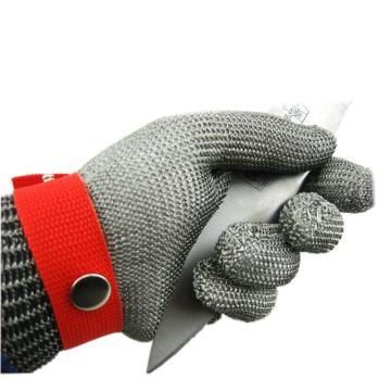 富力 钢丝手套,C502W,钢丝防切割手套 24cm