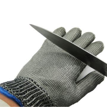 富力 钢丝手套,C501W,钢丝防切割手套 24cm
