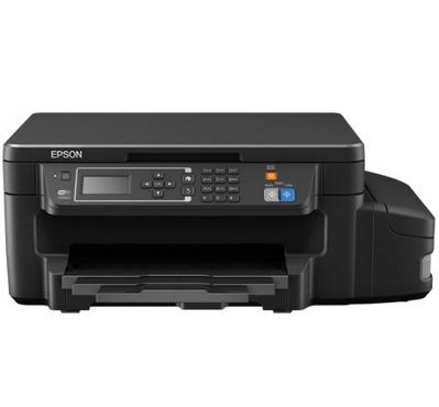 爱普生L605 墨仓式商用彩色一体机 打印 复印 扫描 A4