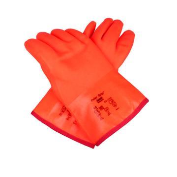 安思尔Ansell 防寒手套,23700100,Polar Grip™ PVC外部涂层防寒手套