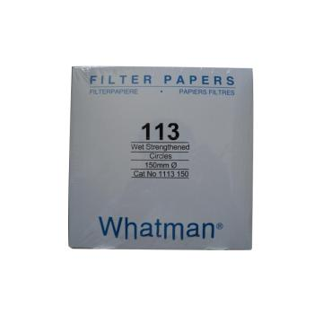Whatman定性滤纸,湿强级,GR,113,15CM,100/PK