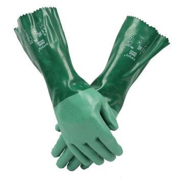 安思尔Ansell 氯丁防化手套,8-354-9,Neoprene棉织衬垫