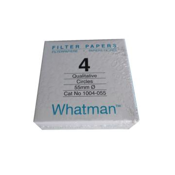 Whatman定性滤纸,标准级,GR,4,5.5CM,100/PK