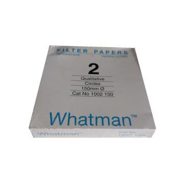 Whatman定性滤纸,标准级,GR,2,15.0CM,100/PK