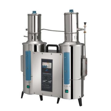 不锈钢电热重蒸馏水器,5升/时,断水自控,申安,ZLSC-5