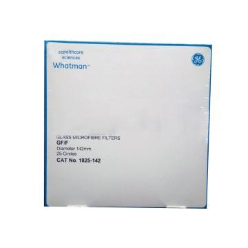 Whatman玻璃微纤维滤纸(无粘合剂),GF/F,14.2CM,25/PK