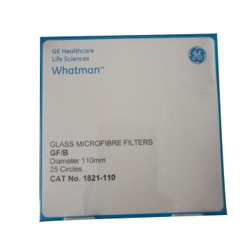 Whatman玻璃微纤维滤纸(无粘合剂),GF/B,11.0CM,25/PK