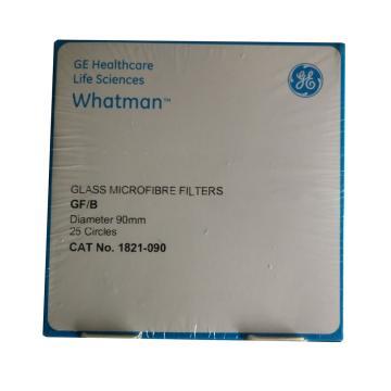 Whatman玻璃微纤维滤纸(无粘合剂),GF/B,9.0CM,25/PK