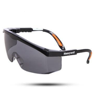霍尼韦尔 S200A 灰色镜片 黑色镜框 防雾眼镜,100111