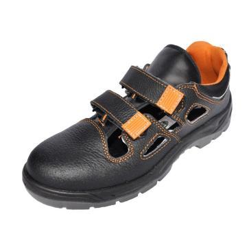合安 透气款牛皮凉鞋,防砸防刺穿防静电,36,12030S1P(同品牌合计最小起订量10双)