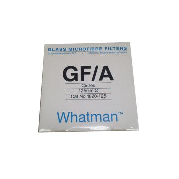 Whatman玻璃微纤维滤纸(无粘合剂),GF/A,12.5CM,100/PK