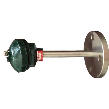 铠装热电阻 WZP2-430 DN50法兰连接 L=2150mm 插深2000mm B级 -200~450℃ 保护管材料:304