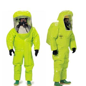 Dupont TK554T全封闭A级内置式连体气密服,黄色,M