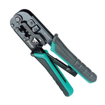 寶工 Pro'skit 4P/6P/8P網絡棘輪壓接鉗,CP-376TR,網絡壓線鉗 網線鉗 壓線鉗 水晶頭壓接鉗
